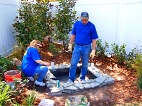 extreme makeover tv show baywood landscape contractors new port richey